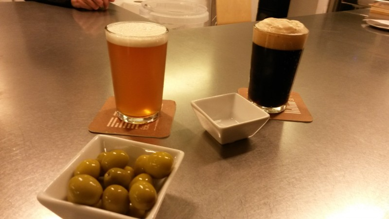 Ale and stout in las Fabricas