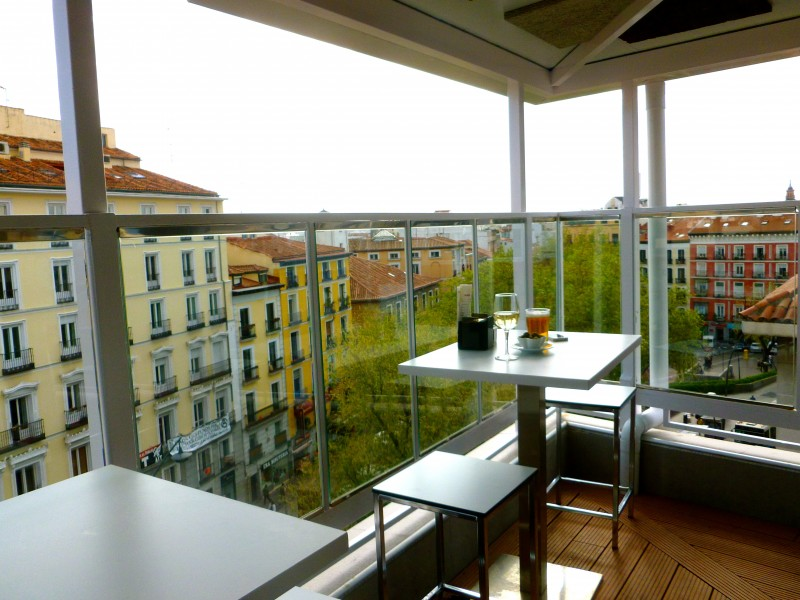 Casa Granada best rooftop bar in Madrid by Naked Madrid