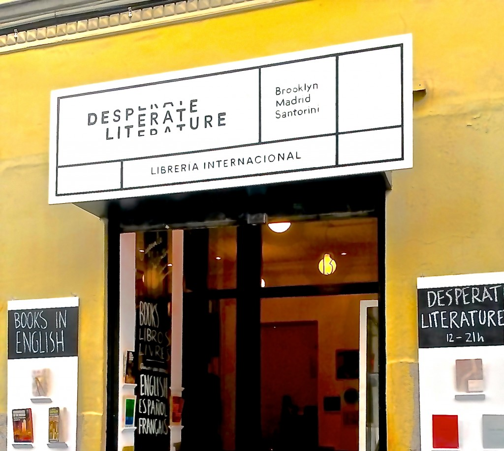 Desperate LIterature, international used book store in Madrid by Naked Madrid