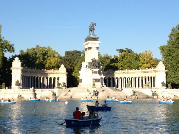 Retiro Lake by Naked Madrid