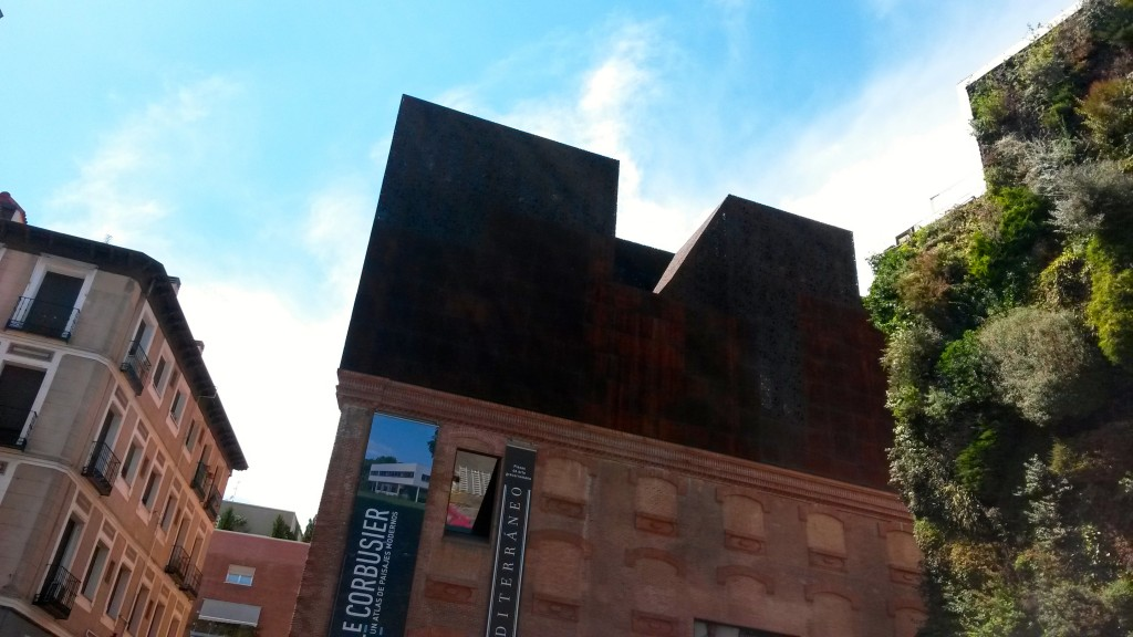 Caixa Forum Facade by Naked Madrid