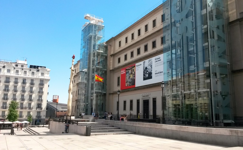 Reina Sofia Museum by Naked Madrid