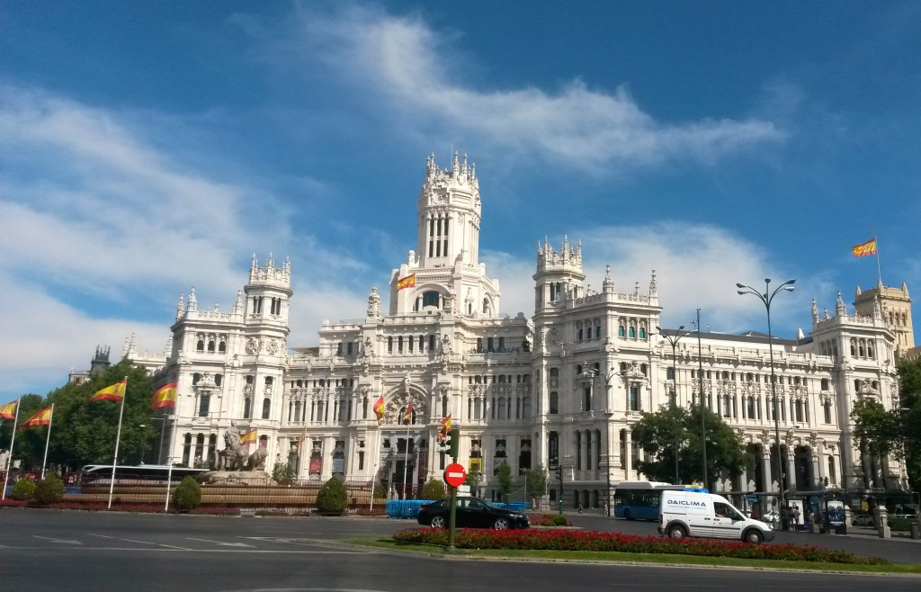 Palacio de Cibeles by Naked Madrid