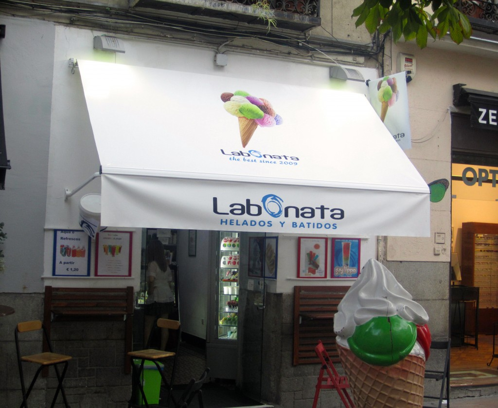 best ice cream in madrid by naked madrid la bonata
