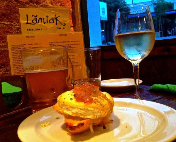Taberna Lamiak, best bar and tostas in Madrid by Naked Madrid