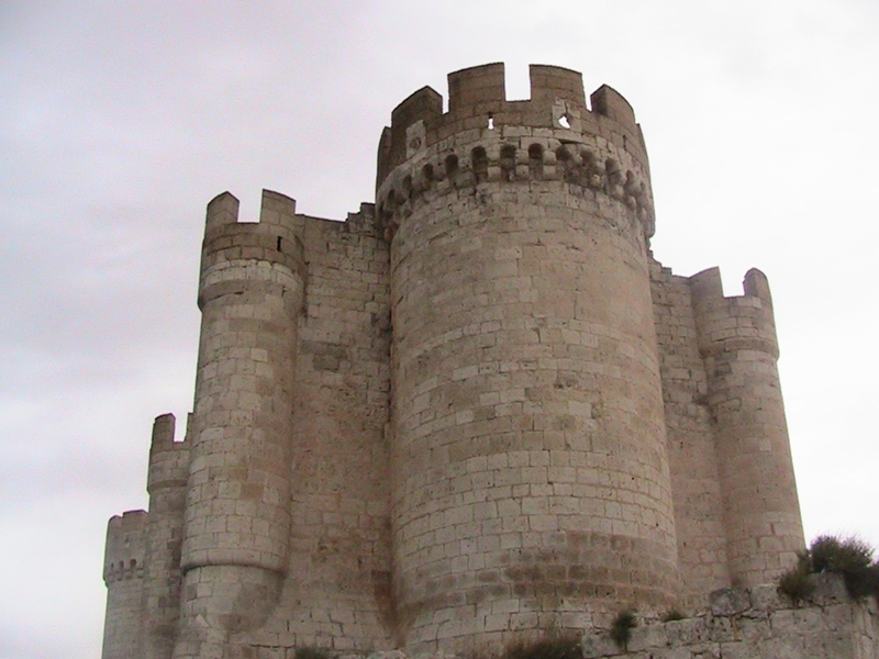 The castle of Peñafiel