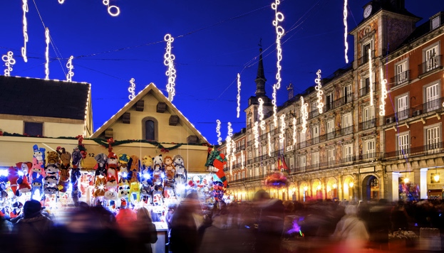 best Christmas markets in Madrid by Naked Madrid