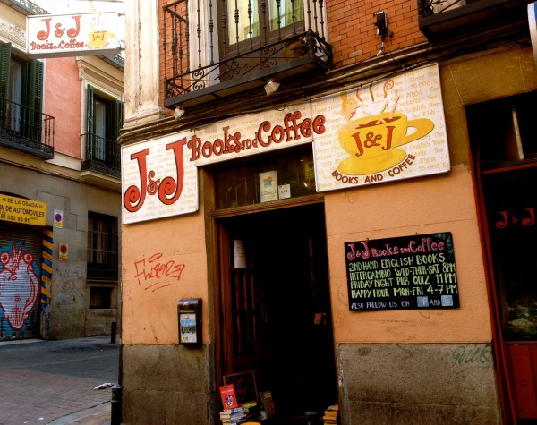 J and J's Books and Coffee Madrid by Naked Madrid