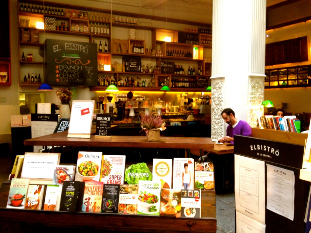 la Central best coffee bookshops in Madrid by Naked Madrid