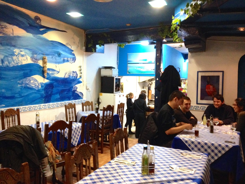 Taberna Griega by Naked Madrid, best Greek restaurant in Madrid
