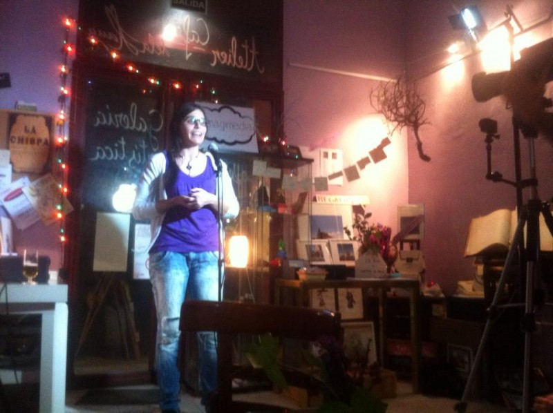 La Chispa storytelling in English and Spanish in Lavapies by Naked Madrid