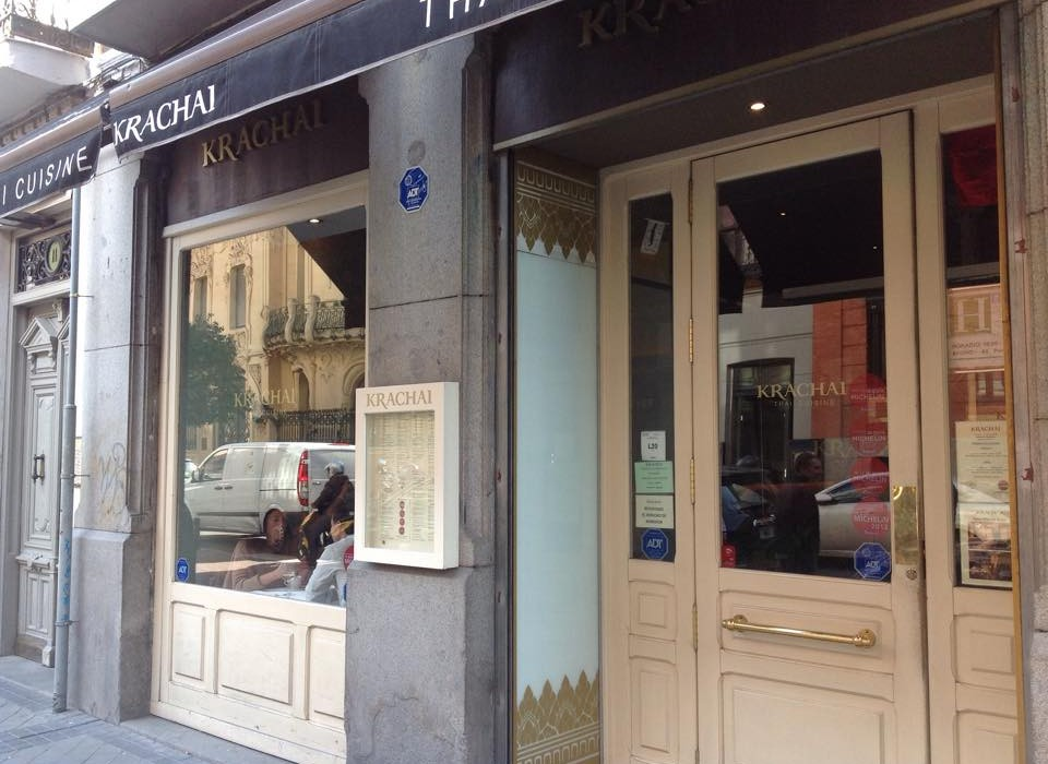 Krachai, Thai restaurant in Madrid by Naked Madrid