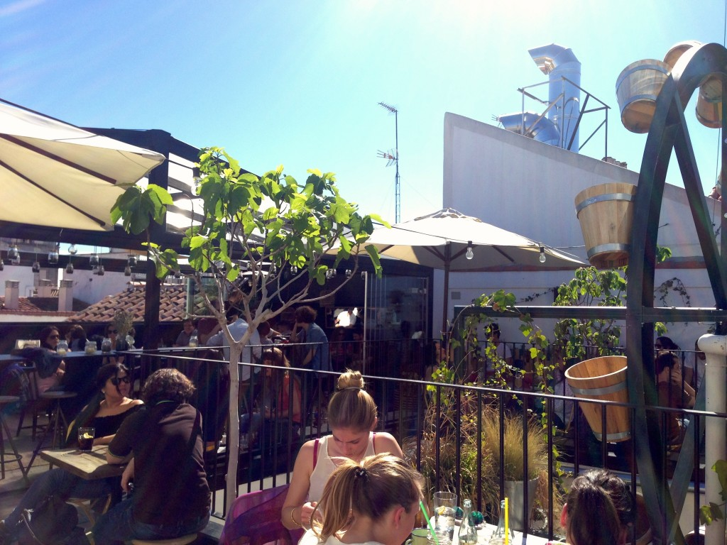 The hat rooftop bar by Naked Madrid