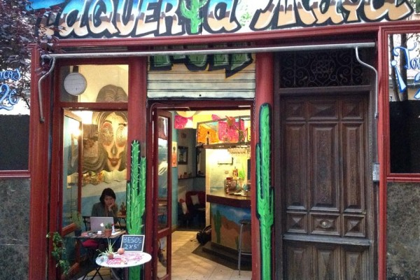Maya, Mexican taquería and product store by Naked Madrid