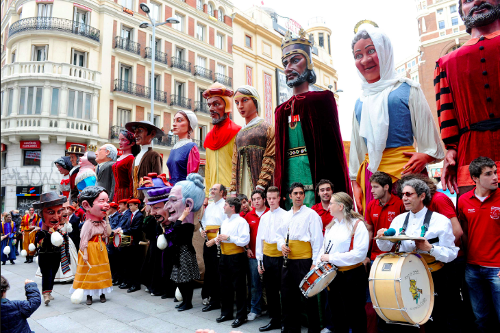 the parade (source: www.madrid.es)