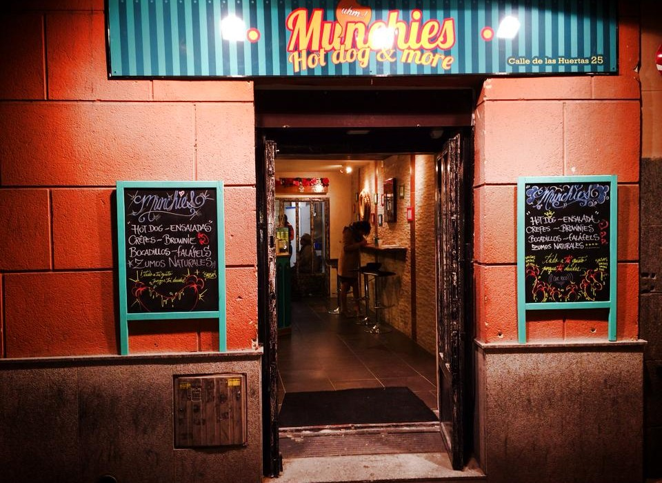 Munchies by Naked Madrid in Huertas