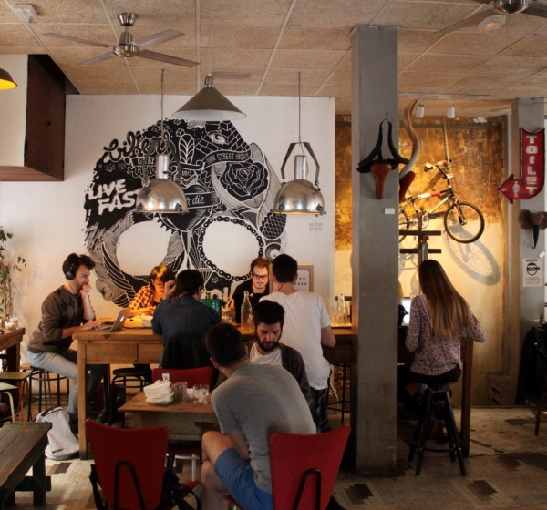 La Bicicleta Café by Naked Madrid