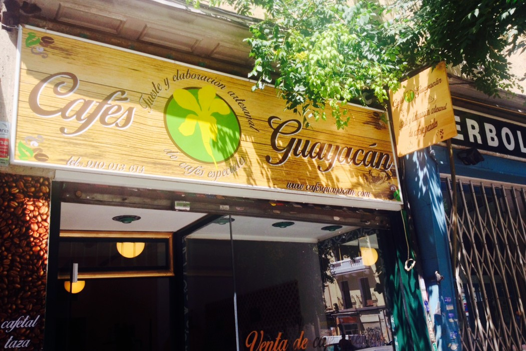 Cafés Guayacán in Chamberí by Naked Madrid