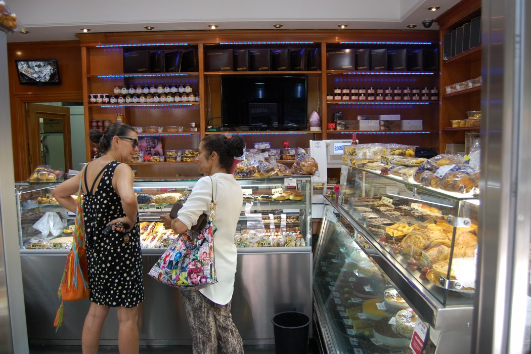Gluten free bakery madrid La Oriental by Naked Madrid