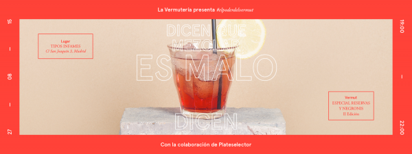 Vermouth party with La Vermutería in Madrid