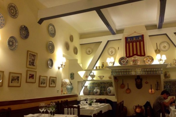 La Barraca, an upscale Valencian restaurant in downtown Madrid by Naked Madrid