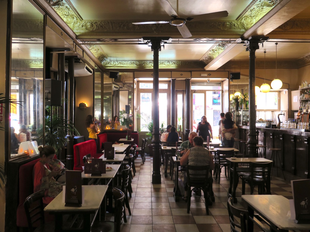 Café Barbieri by day