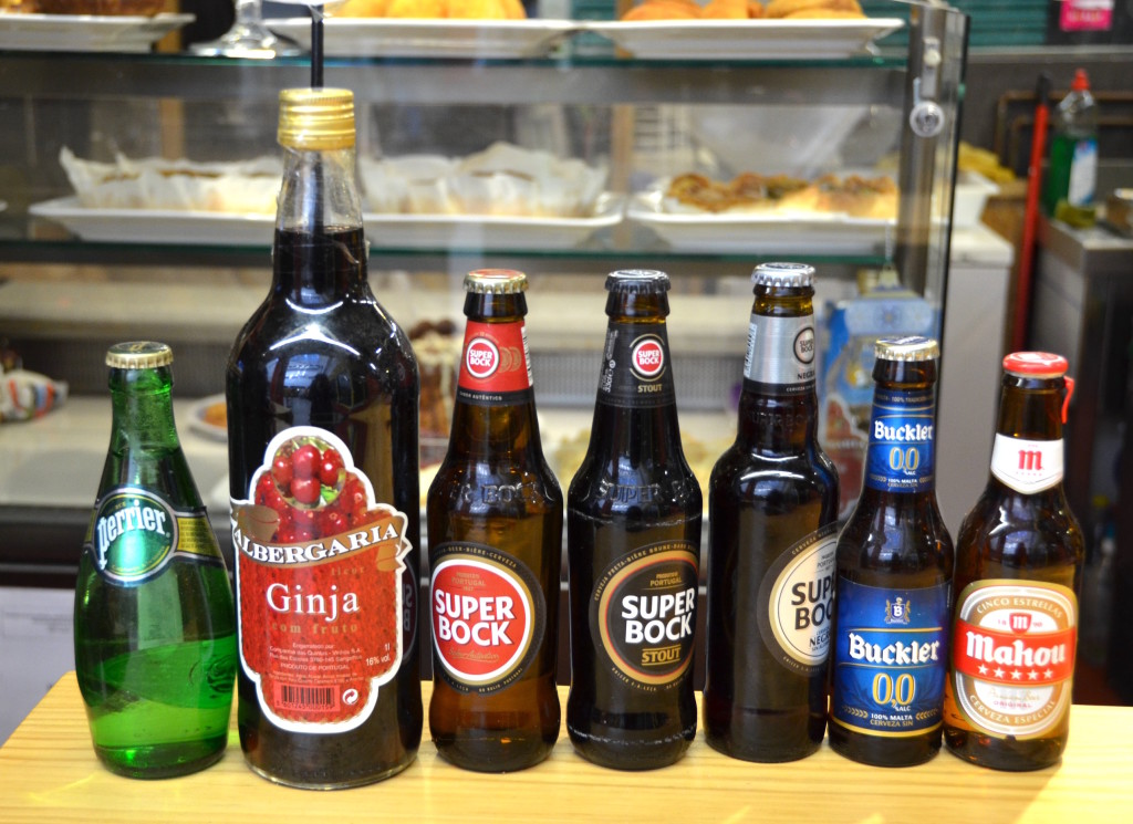 A selection of Portuguese beers