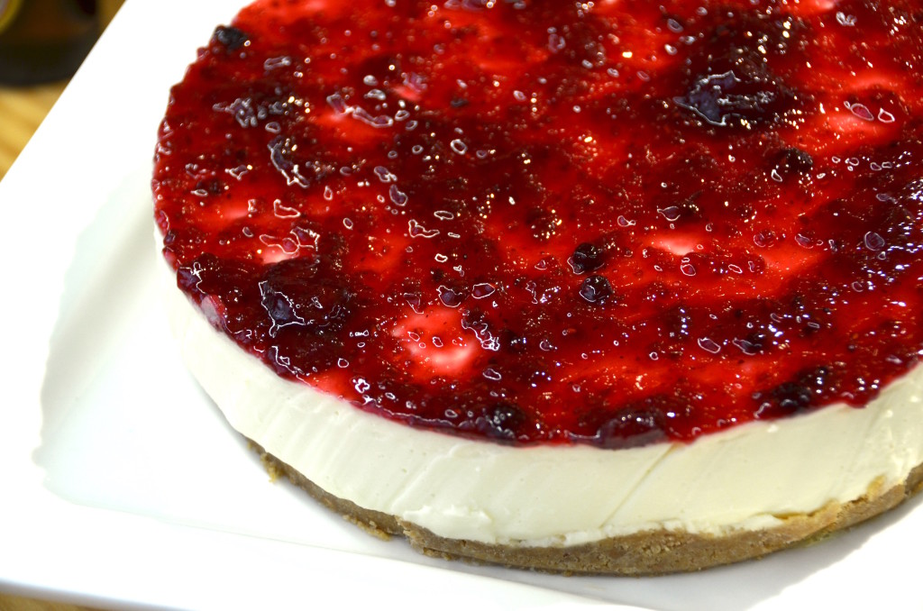 Strawberry cheesecake (wow)