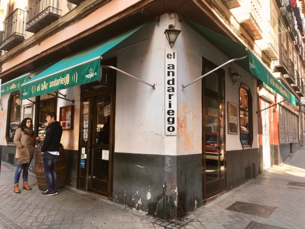 Ariego Argentine bar by Naked Madrid