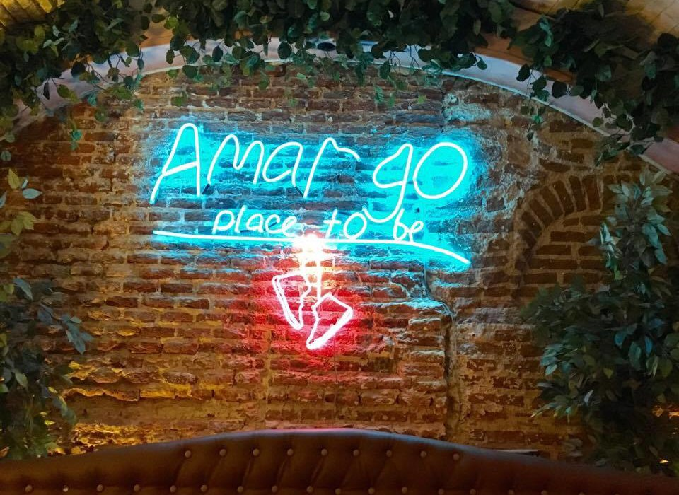 Amargo Place To Be by Naked Madrid