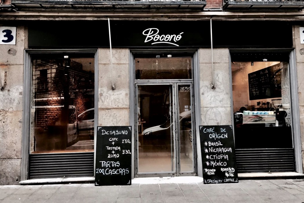 Bocono Coffee Shop Madrid by Naked Madrid