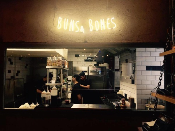 Buns & Bones restaurant by Naked Madrid