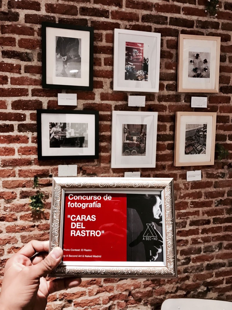 Photo contest Bocono Art Wall Naked Madrid A Second Art