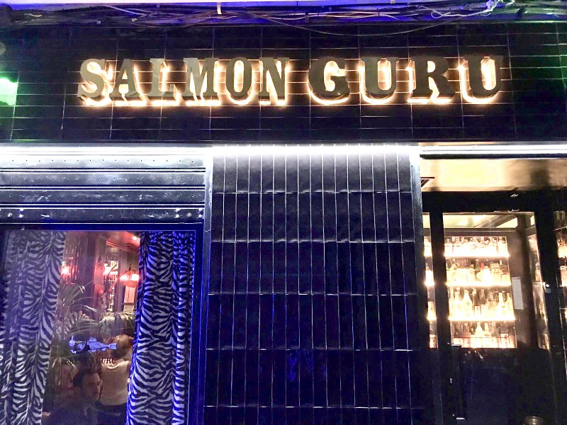 Salmon Guru bar by Naked Madrid