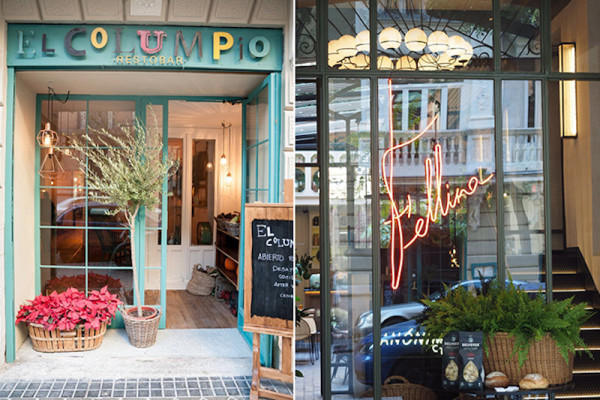 El Columpio and Fellina restaurants by Naked Madrid