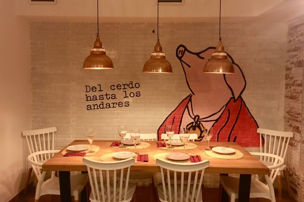 La Pornicería restaurant by Naked Madrid